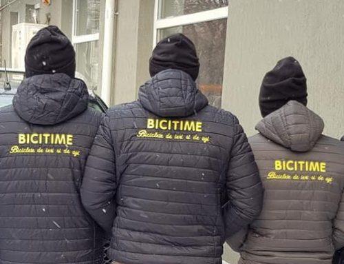 Echipa BiciTime ca-n miez de iarna, primava ;)